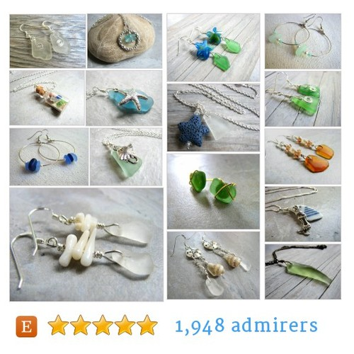 Sea Glass Jewelry #etsy shop #seaglassjewelry @jodiesme  #etsy #PromoteEtsy #PictureVideo @SharePicVideo