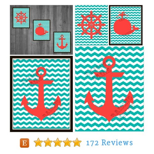 Kids Bathroom prints Nautical Bathroom #etsy #PromoteEtsy #PictureVideo @SharePicVideo