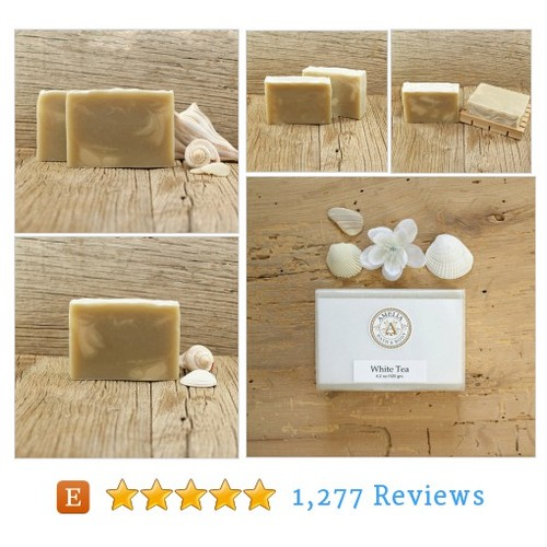 White Tea Soap | Feminine Soap, Cold #etsy @ameliassoapco  #etsy #PromoteEtsy #PictureVideo @SharePicVideo