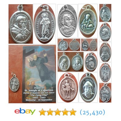 MEDALS Great deals from Handmade Rosaries #ebay @humble_paul  #ebay #PromoteEbay #PictureVideo @SharePicVideo
