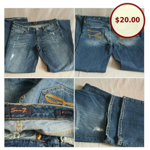 Women's Seven7 Pants Blue Jeans Flare Leg @seniliascollect https://www.SharePicVideo.com/?ref=PostPicVideoToTwitter-seniliascollect #socialselling #PromoteStore #PictureVideo @SharePicVideo