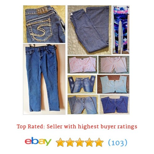 Jeans & Pants Spring is coming #jcrew #Silverjeans #NYDJ #Talbots #LAidol #ebay #PromoteEbay #PictureVideo @SharePicVideo