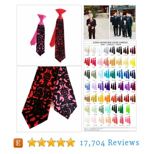 "Boys ""Papel Picado"" clip-on tie. Baby, #etsy @cyberoptix  #etsy #PromoteEtsy #PictureVideo @SharePicVideo"