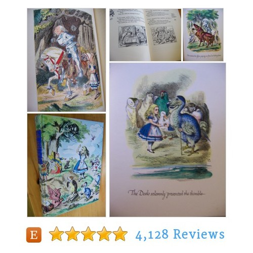 alice in wonderland and through the looking #etsy @ricracnbuttons  #etsy #PromoteEtsy #PictureVideo @SharePicVideo