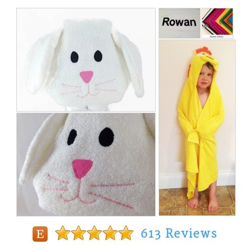 Bunny Hooded Towel - First Birthday Gift #etsy @cftripler  #etsy #PromoteEtsy #PictureVideo @SharePicVideo