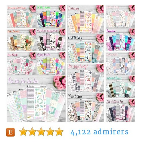 Weekly Planner Kits #etsy shop #weeklyplannerkit @blackbeardprint  #etsy #PromoteEtsy #PictureVideo @SharePicVideo