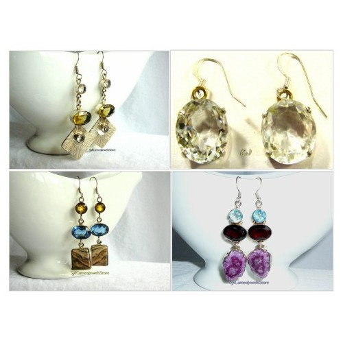 #Earrings #Dangle #Handmade #Jewelry #SylCameoJewelsStore #Etsyshop #Gemstones #etsyspecialt @HyperRT @NightRTs @EtsyRT #iPromotable  #etsy #PromoteEtsy #PictureVideo @SharePicVideo
