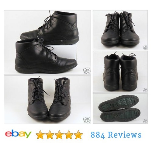 Easy Spirit Black Bootie Chukka Boots Granny Ankle Sz 7 Womens Shoes #Boot #AnkleBoot  #etsy #PromoteEbay #PictureVideo @SharePicVideo