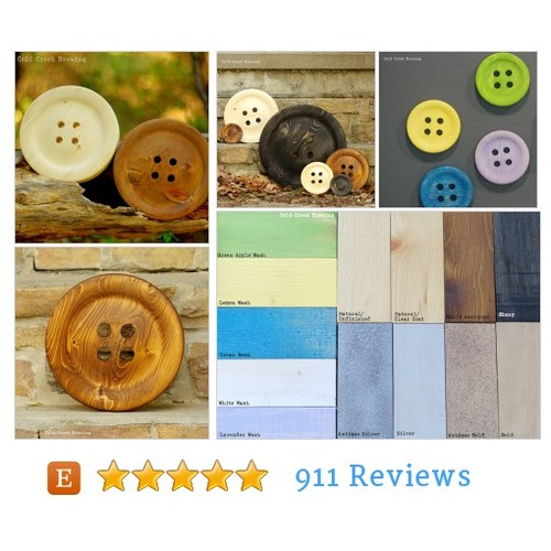 Large 8.5 Inch Wooden Button - Huge Wood #etsy @superawesomeccb  #etsy #PromoteEtsy #PictureVideo @SharePicVideo