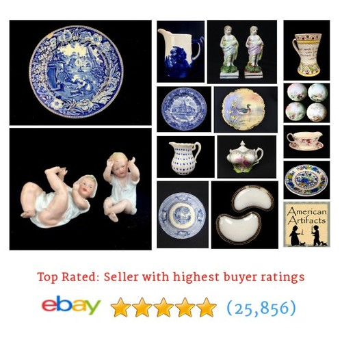 Antiques Items in American Artifacts store on ! #Ceramic #Antique @NZupon #ebay https://SharePicVideo.com?ref=PostVideoToTwitter-NZupon #ebay #PromoteEbay #PictureVideo @SharePicVideo