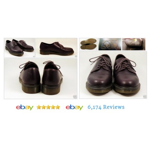 Dr. Martens Men's Brown Leather #Oxford Shoes Sz 10 M - EUC Style1561 #Casual #DrMarten #etsy #PromoteEbay #PictureVideo @SharePicVideo