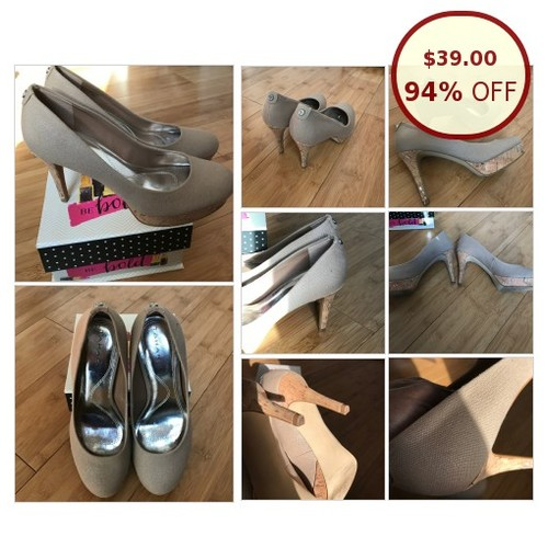 TAHARI NEUTRAL NUDE CORK HEELS SHOES @fifty1twenty https://www.SharePicVideo.com/?ref=PostPicVideoToTwitter-fifty1twenty #socialselling #PromoteStore #PictureVideo @SharePicVideo