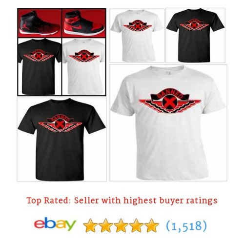 EXCLUSIVE TEE /T-SHIRT TO MATCH THE NIKE AIR JORDAN BANNED BREDS! #ebay @_cop_em https://www.SharePicVideo.com/?ref=PostPicVideoToTwitter-_cop_em #etsy #PromoteEbay #PictureVideo @SharePicVideo