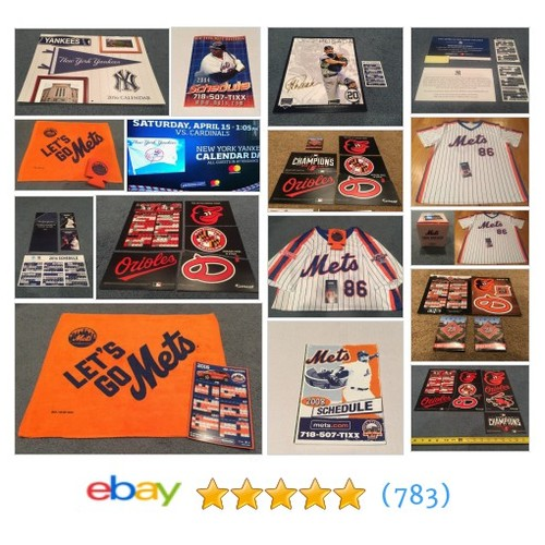 Calendars & Schedules Items in Baseball SGA Collectibles store #ebay @sgacollectibles  #ebay #PromoteEbay #PictureVideo @SharePicVideo