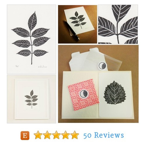 Block print: Ash tree leaf - limited #etsy @dria https://www.SharePicVideo.com/?ref=PostPicVideoToTwitter-dria #etsy #PromoteEtsy #PictureVideo @SharePicVideo