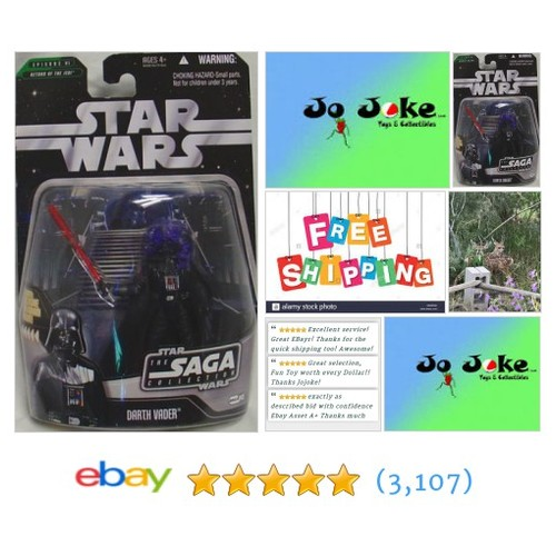 STAR WARS-DARTH VADER-R.O.T.J.-E 3-ENERGY BOLT-HOLOGRAM FIGURE-2006-LITESABER~!~  | eBay #etsy #PromoteEbay #PictureVideo @SharePicVideo