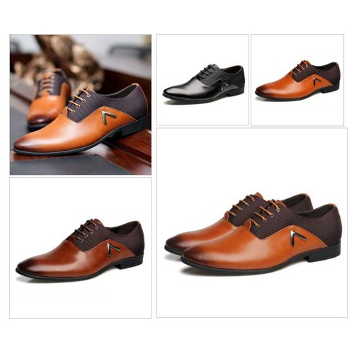 Casual Leather Oxford @memorableman1 #shopify  #shopify #PromoteStore #PictureVideo @SharePicVideo