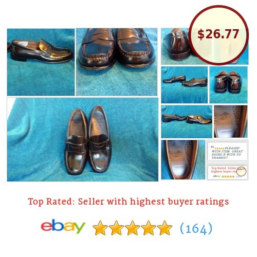 BROOKS BROTHERS Kids Penny Loafers Black Slip-On Footwear Shoes Sz 2.5 Handsewn | eBay #Acc #Shoe #BoysShoe #etsy #PromoteEbay #PictureVideo @SharePicVideo
