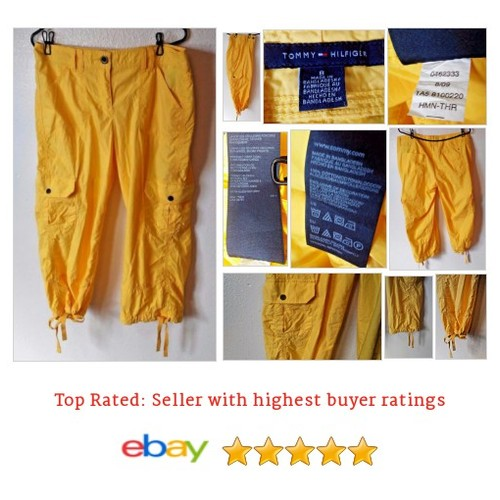 Tommy Hilfiger Pants Bright Yellow Size 8 Cargo Style Pockets | eBay #Pant #Capri #Cropped #etsy #PromoteEbay #PictureVideo @SharePicVideo