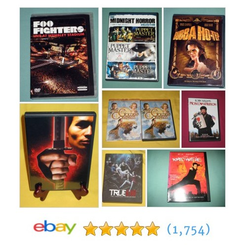DVDs MUCH More store #ebay @amuseyouebay  #ebay #PromoteEbay #PictureVideo @SharePicVideo