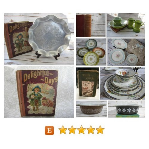 Vintage Treasures, Inspiring Nostalgia... by VintageeThings @vintageethings #etsy #PromoteEtsy #PictureVideo @SharePicVideo