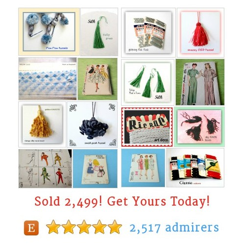 trims tassels patterns Etsy shop #etsy @yumyumobjects https://www.SharePicVideo.com/?ref=PostPicVideoToTwitter-yumyumobjects #etsy #PromoteEtsy #PictureVideo @SharePicVideo