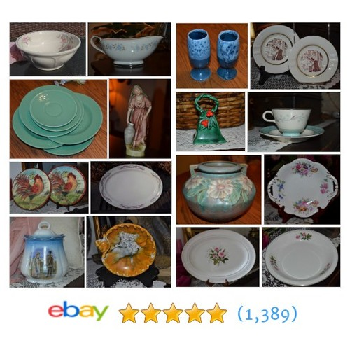 Porcelain and Ceramics Items in Treasuring Fifty store @thriftyfifty6  #ebay  #ebay #PromoteEbay #PictureVideo @SharePicVideo