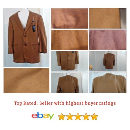 Dillards Men's Sports Coat Size 42R 100% Cashmere Light Brown | eBay #Blazer #Dillard #TwoButton #etsy #PromoteEbay #PictureVideo @SharePicVideo