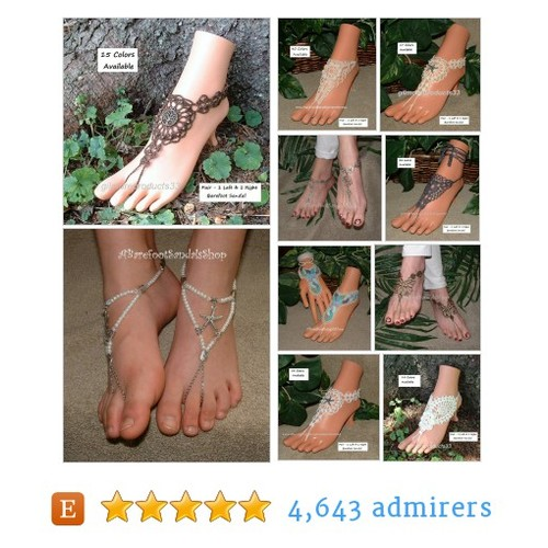 Barefoot Sandals Shoes Foot Body Feet Jewelry Shop by ABarefootSandalsShop Etsy shop @Abarefootsandal #etsy #PromoteEtsy #PictureVideo @SharePicVideo