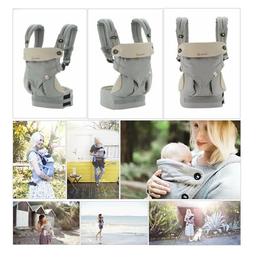 #ERGO# baby# Four# Position# 360# Baby# Carrier,# Grey #socialselling #PromoteStore #PictureVideo @SharePicVideo