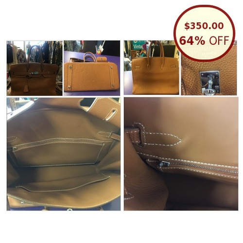 Tan Birk bag to go leather @cafevoila https://www.SharePicVideo.com/?ref=PostPicVideoToTwitter-cafevoila #socialselling #PromoteStore #PictureVideo @SharePicVideo