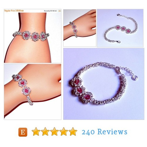 ON SALE 30% OFF Chainmaille bracelet, #etsy @nez_designs https://www.SharePicVideo.com/?ref=PostPicVideoToTwitter-nez_designs #etsy #PromoteEtsy #PictureVideo @SharePicVideo