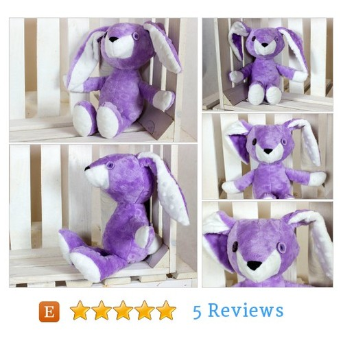 Plush Bunny Handmade #Toy #Game @nuva_a  #etsy #PromoteEtsy #PictureVideo @SharePicVideo