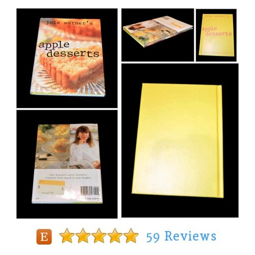 Apple Desserts Joie Warners Cooking Book #etsy @mystify_gifts  #etsy #PromoteEtsy #PictureVideo @SharePicVideo