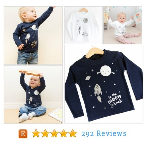 To the moon & back kids long sleeved #etsy @maciedotdoodles  #etsy #PromoteEtsy #PictureVideo @SharePicVideo