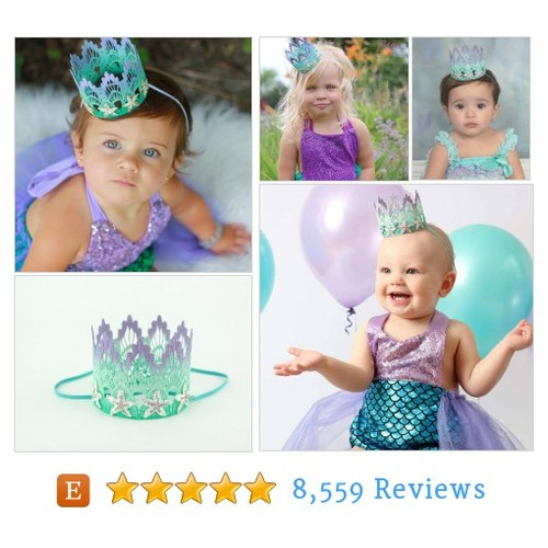 Mermaid Starfish || ombre lavender mint #etsy @lovecrushcrowns  #etsy #PromoteEtsy #PictureVideo @SharePicVideo