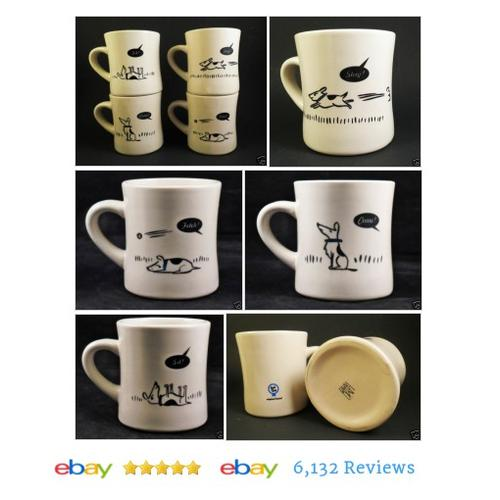 Bad Dog Wisdom Restaurant Mugs SET OF 4 M-Ware #China Coffee Cups #MWareChina #Dinnerware #etsy #PromoteEbay #PictureVideo @SharePicVideo