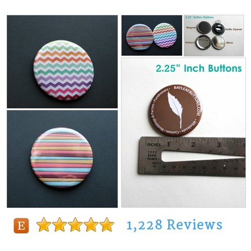 Lined or ZigZag Colorful Buttons | 2.25 #etsy @BayleafxButtons  #etsy #PromoteEtsy #PictureVideo @SharePicVideo