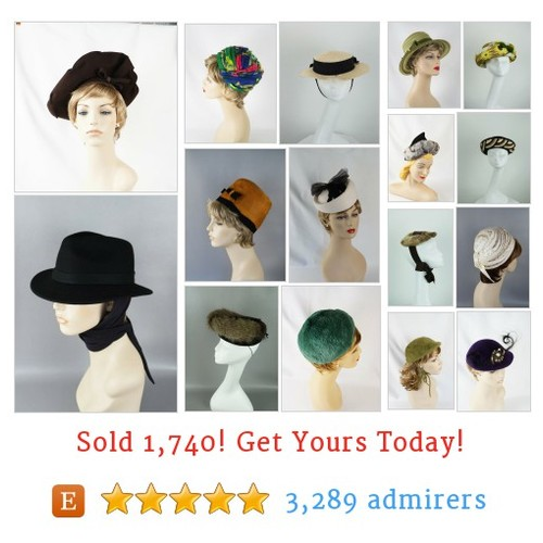 Hats Etsy shop #etsy @alleycatsvtg  #etsy #PromoteEtsy #PictureVideo @SharePicVideo