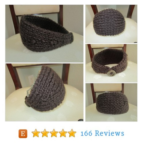 Dark Chocolate Hand-Knit Headband #etsy @vgrabara https://www.SharePicVideo.com/?ref=PostPicVideoToTwitter-vgrabara #etsy #PromoteEtsy #PictureVideo @SharePicVideo