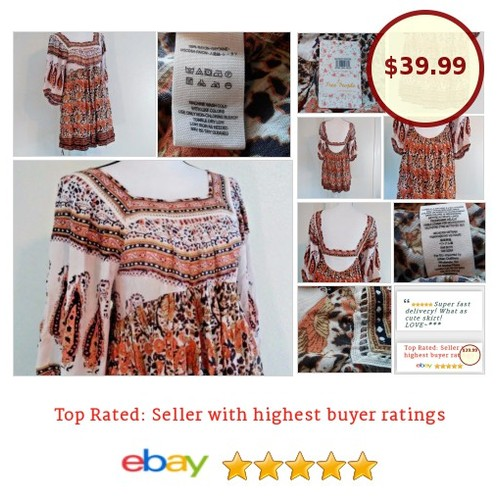#FreePeople #Boho #MidSummer #Dream #Dress #Hippie #Peasant  #Sundress#anthropologie #Sale #fashion #stylish #deal #etsy #PromoteEbay #PictureVideo @SharePicVideo