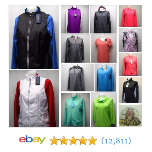 Ladies: It's Friday morning you're having coffee,so why not browse for the next 15 mins at golfing in style #polos #ebay #PromoteEbay #PictureVideo @SharePicVideo