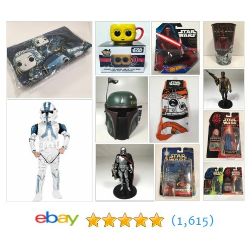 Star Wars Items in koolhotstuffstore store #ebay @hottieebaysales  #ebay #PromoteEbay #PictureVideo @SharePicVideo