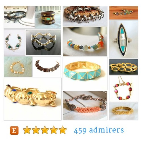 BRACELETS & RINGS by @DejaVuVintiques  #etsy shop #BRACELET  #etsy #PromoteEtsy #PictureVideo @SharePicVideo