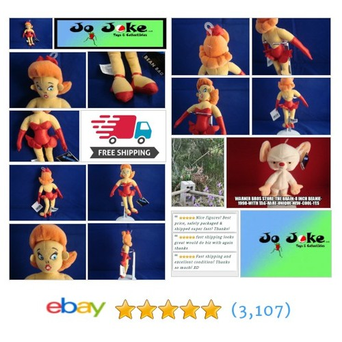 WARNER BROS STUDIO STORE-THE GIRL-9 INCH BEAN PLUSH-TEX AVERY CLASSIC-NEW TAGS | eBay #WARNERBROSSTUDIOSTORE #etsy #PromoteEbay #PictureVideo @SharePicVideo