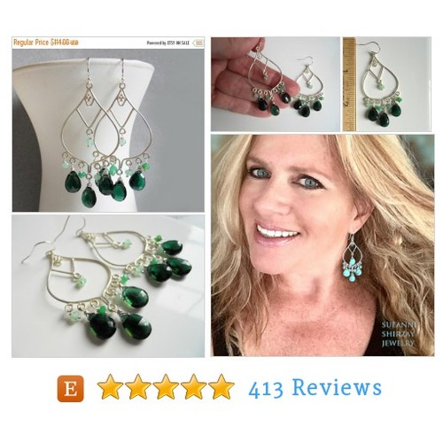 15% OFF sale, Dark Green gemstone #etsy @sueanneshirzay  #etsy #PromoteEtsy #PictureVideo @SharePicVideo
