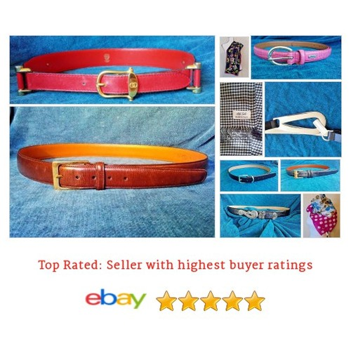 Belts and Scarves #ebay #PromoteEbay #PictureVideo @SharePicVideo