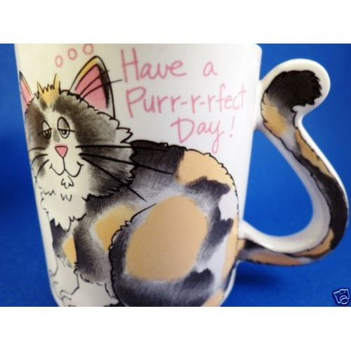 #Cat #Mug Have a Purr-fect Day Porcelain Cup Coffee Tea Vintage Japan #Cup #etsy #PromoteEbay #PictureVideo @SharePicVideo