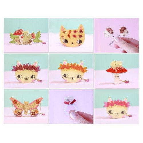 Autumn Kittens @ilovecrafty #shopify  #shopify #PromoteStore #PictureVideo @SharePicVideo