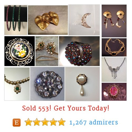 Vintage Costume Jewelry Etsy shop #etsy @rarebeautygems https://www.SharePicVideo.com/?ref=PostPicVideoToTwitter-rarebeautygems #etsy #PromoteEtsy #PictureVideo @SharePicVideo